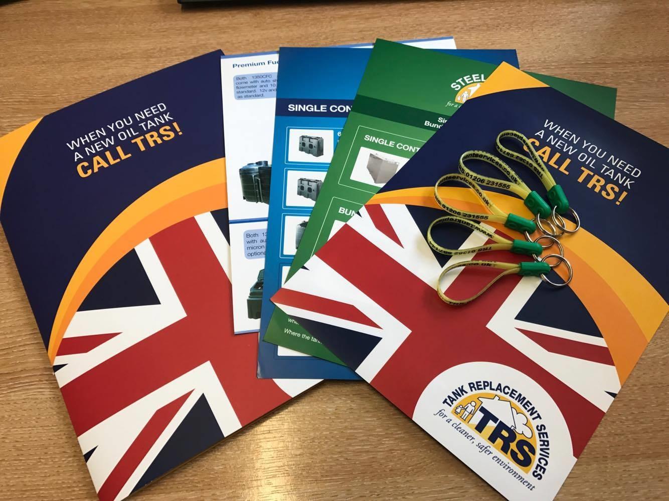 Show brochures