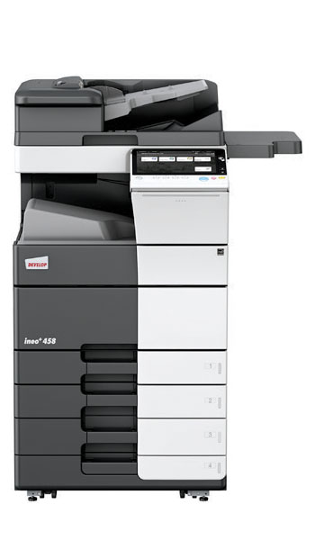 Ineo  458 colour multifunctional printer copier